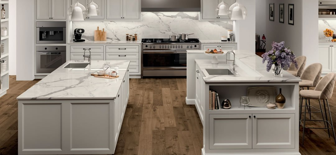 The Newest Trend in Countertops is PORCELAIN!